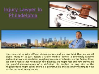 Philly Injury Lawyer