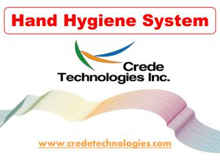 Hand Hygiene System – Crede Technologies