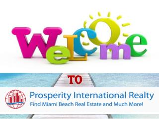 Online Property Search in Miami Beach Florida