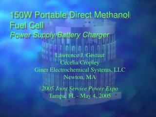 150W Portable Direct Methanol Fuel Cell  Power Supply