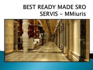 najlepšie Ready Made sro Servis - MMiuris