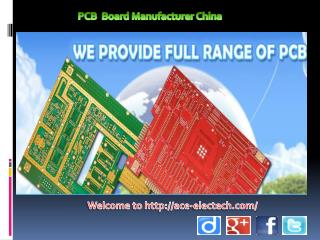 A trusted and popular printed circuit board manufacturer