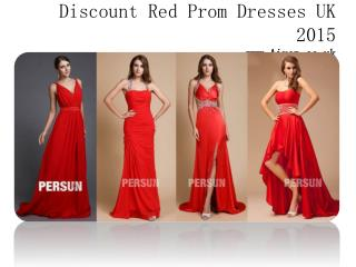 Affordable red prom dresses UK online buy