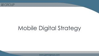 GO MO offers digital strategies to optimise mobile website