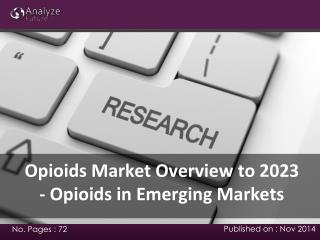 2023 Opioids in Emerging Markets: Trends, Share, Size