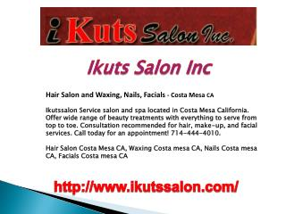 Hair Salon, Hair Dresser, Stylist and Waxing, Nails, Facials