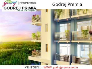 Godrej Premia Sector 104 Gurgaon