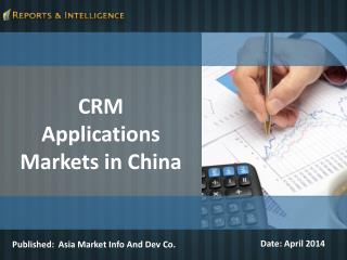 CRM Applications Markets in China