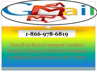1-866-978-6819  Gmail Technical support Phone Numb