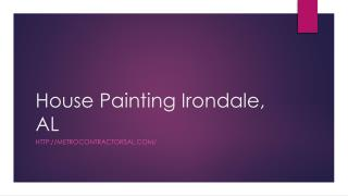House Painting Irondale, AL,
