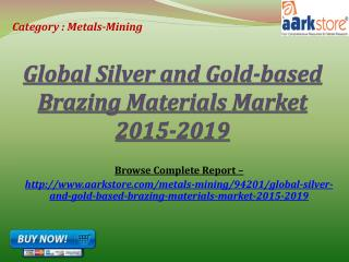 Global Silver and Gold-based Brazing Materials Market