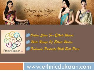 Drape in Style - Buy Sarees, Salwar Suits Online