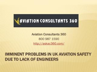 Aviation Safety Consultant