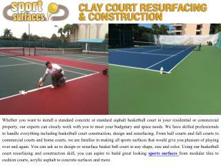 Bocce Ball Court Construction Florida