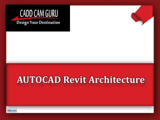 Computer Training Institutes For Revit Architecture Nagpur