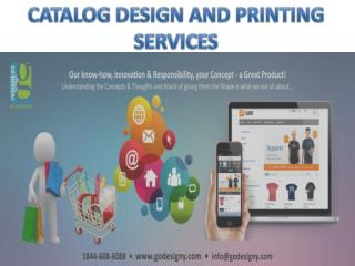 CATALOG DESIGN AND PRINTING SERVICES
