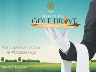 63 Golf Drive - Affordable Group Housing Project Sector 63