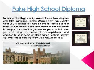 How to Make a Fake Diploma