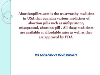 Mifepristone terminates unintended pregnancy