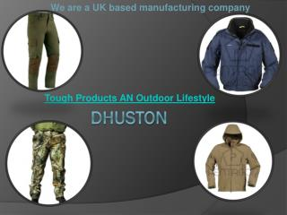Tough Outdoor Products For An Outdoor Lifestyle