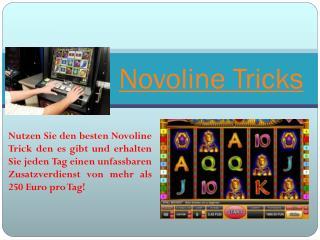 Novoline Trick