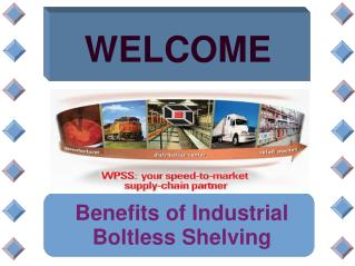 Benefits of Industrial Boltless Shelving