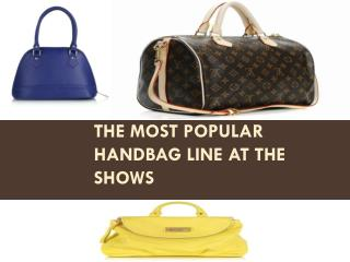The Most Popular Handbag Line at the Shows
