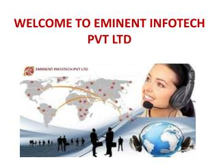 welcome to eminent infotech pvt ltd