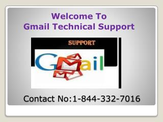 Gmail Support Number 1-844-332-7016 USA for Login Problem