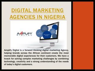 Social Media Marketing Agencies In Nigeria