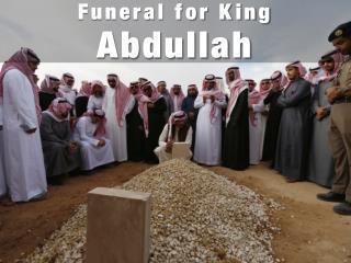 Funeral for King Abdullah
