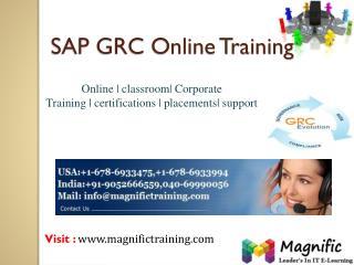 SAP GRC ONLINE TRAINING IN UK