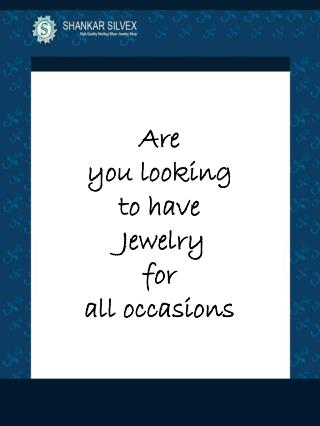 All occasions jewelry for Every One