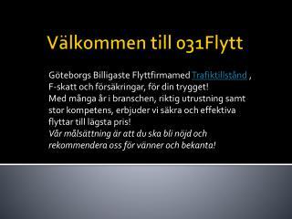 Flyttlådor Göteborg