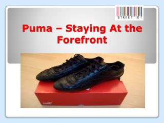 Puma � Staying At the Forefront