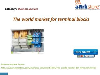 Aarkstore - The world market for terminal blocks