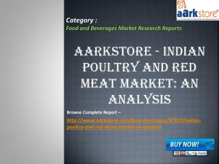 Aarkstore - Indian Poultry and Red Meat Market: An Analysis
