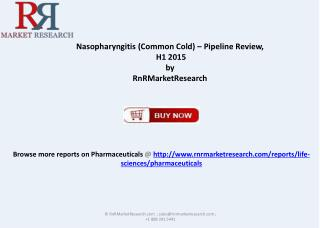Therapeutic Development for Nasopharyngitis (Common Cold)