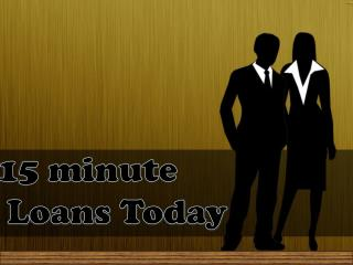Quick Small Loans With No Upfront Fees @ www.15minutepaydayl