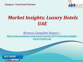 Aarkstore -Market Insights; Luxury Hotels UAE