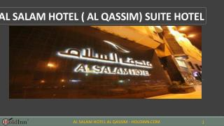 Al Salam Hotel (Al Qassim) - Hotels in Buraidah Saudi Arabia