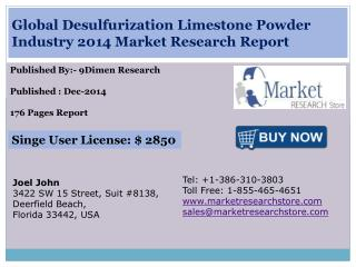 Global Desulfurization Limestone Powder Industry 2014 Market