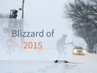 Blizzard of 2015