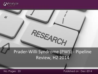 Prader-Willi Syndrome (PWS) - Pipeline Review, H2 2014