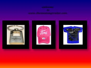 Ford Mustang Merchandise