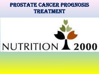 Prostate Cancer Prognosis Treatment