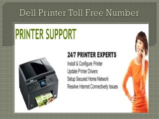 Dell Printer Toll Free Number 1-800-832-1504