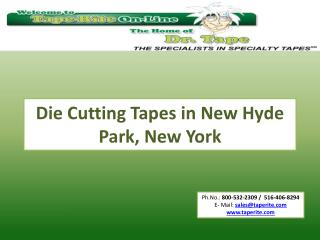 Die Cutting Tapes in New Hyde Park, New York