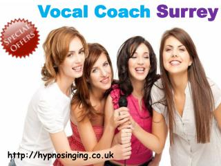 Vocal Coach Surrey