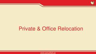 Private & Corporate Relocation